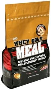 On 100% Whey Protein Based Meal Replacement Product Vanilla Custard