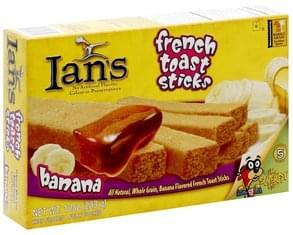 Ians French Toast Sticks Banana