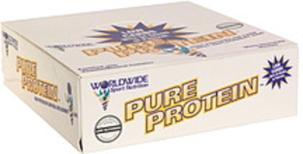 Worldwide Sport Nutrition White Chocolate Mousse High Protein/Low Carb Meal Replacement Bar - 12 ea