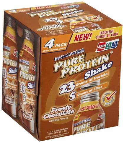 Frosty Chocolate Protein Shake