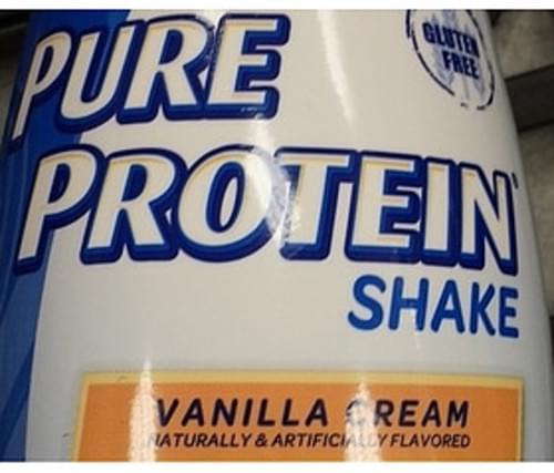 Pure Protein Vanilla Cream Shake - 325 ml