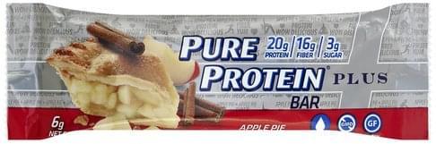 Pure Protein Plus, Apple Pie Protein Bar - 2.11 oz
