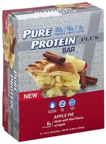 Pure Protein Protein Bar Plus, Apple Pie