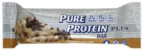 Pure Protein Protein Bar Plus, Chocolate Chip Cookie Dough