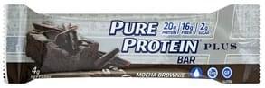 Pure Protein Protein Bar Plus, Mocha Brownie