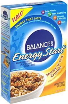 Balance Cereal Honey & Oat Crunch