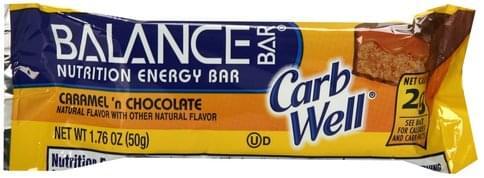 Balance Caramel 'N Chocolate Nutrition Energy Bar - 1.76 oz