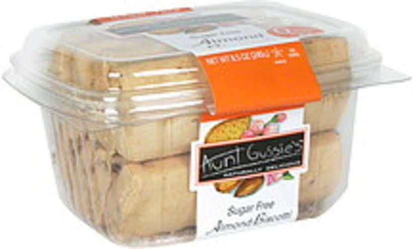 Aunt Gussies Almond, Sugar Free Biscotti - 8.5 oz