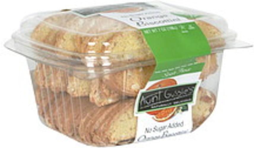 Aunt Gussie's Orange, No Sugar Added Biscottini - 8 oz