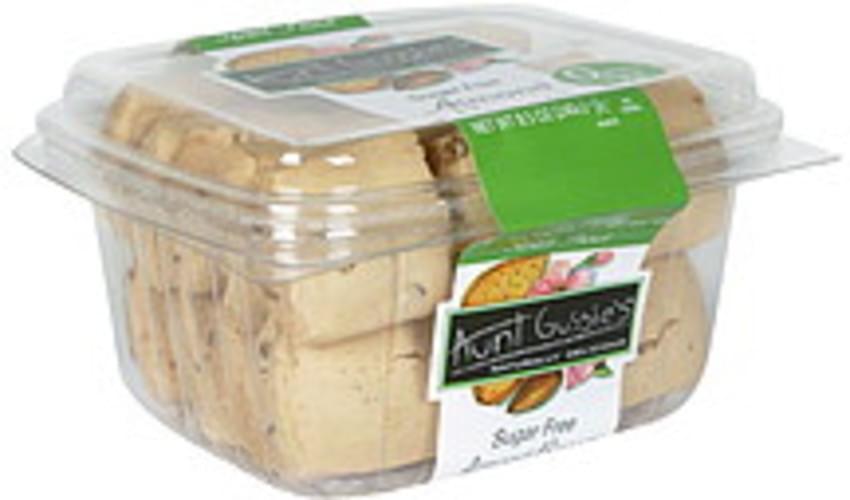 Aunt Gussies Almond, Sugar Free Biscotti - 8.5 oz