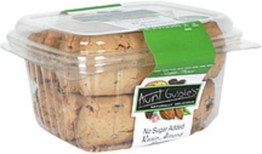 Aunt Gussie's Raisin Almond, No Sugar Added Biscotti - 8.5 oz