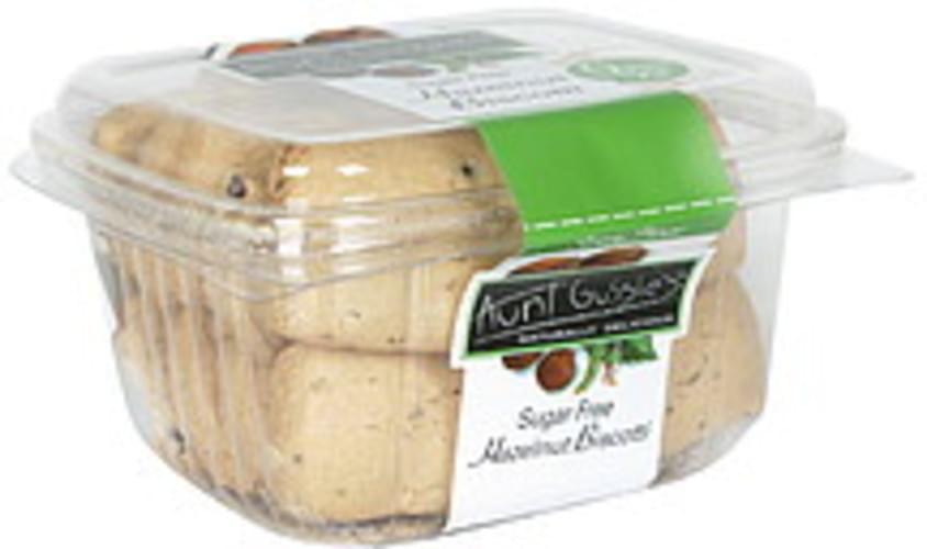 Aunt Gussies Hazelnut, Sugar Free Biscotti - 8.5 oz