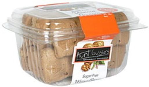 Aunt Gussies Biscotti Walnut, Sugar Free