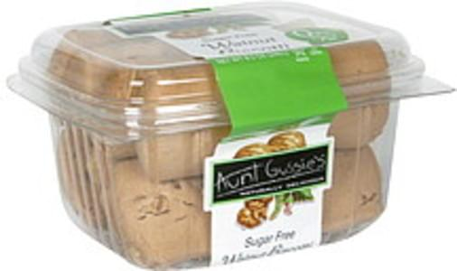 Aunt Gussies Biscotti Walnut, Sugar Free