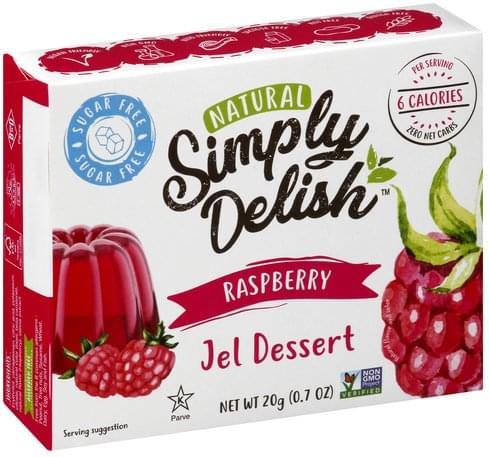 Simply Delish Strawberry Jel Dessert - 20 g