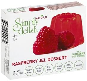 Simply Delish Jel Dessert Raspberry