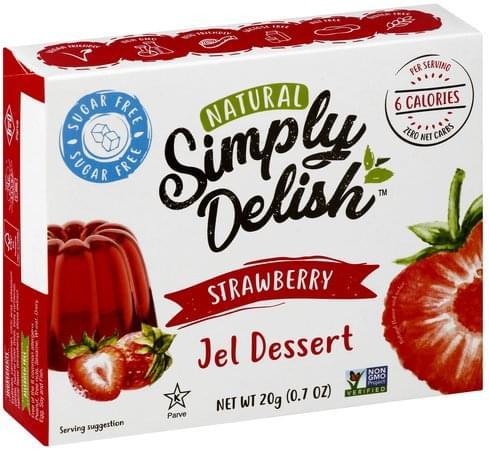 Simply Delish Strawberry Jel Dessert - 20 oz