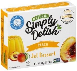 Simply Delish Jel Dessert Peach