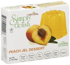 Simply Delish Jel Dessert Peach