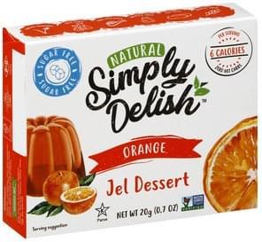 Simply Delish Jel Dessert Orange