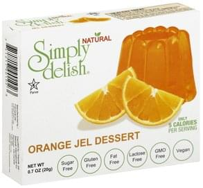 Simply Delish Jel Dessert Orange