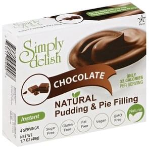 Simply Delish Pudding & Pie Filling Instant, Chocolate