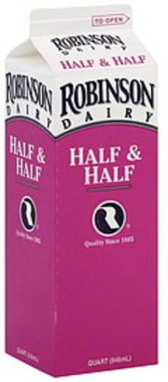 Robinson Half & Half