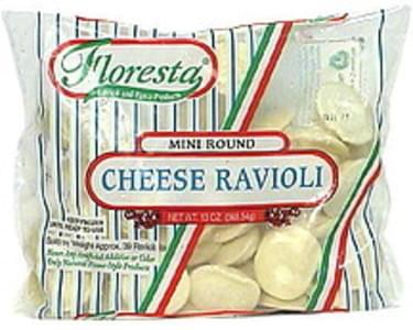 Floresta Ravioli, Mini Round, Cheese