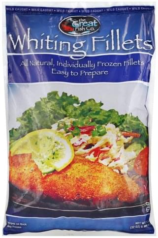 Great Fish Wild Caught Whiting Fillets - 32 oz