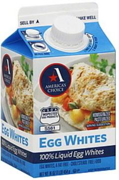 Americas Choice Egg Whites