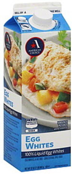 Americas Choice Egg Whites - 32 oz