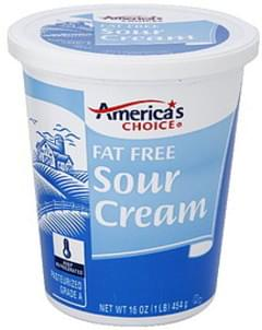 Americas Choice Sour Cream Fat Free