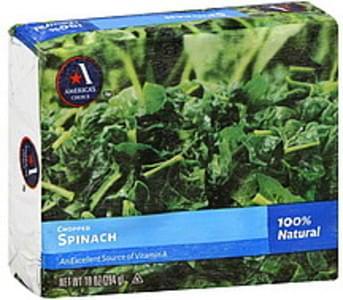 Americas Choice Spinach Chopped