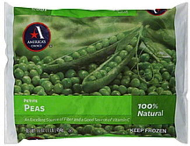 Americas Choice Petite Peas - 16 oz