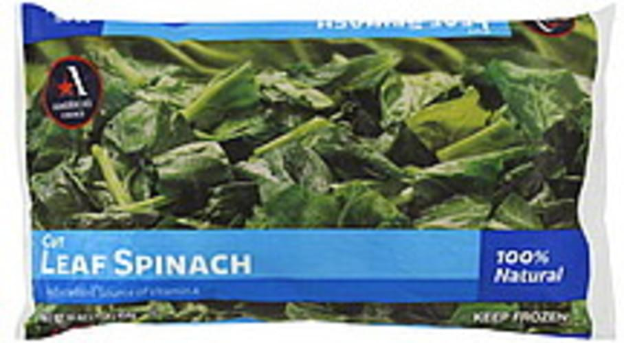 Americas Choice Cut Leaf Spinach - 16 oz