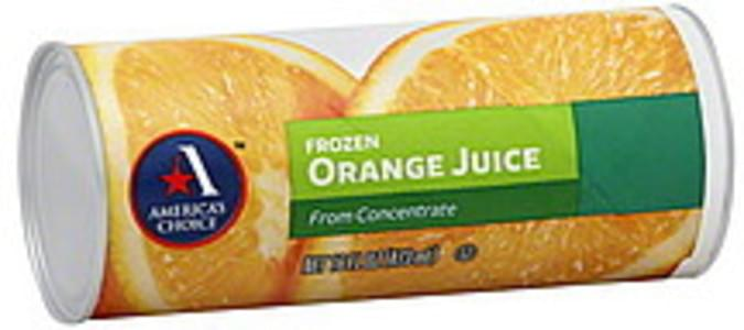 Americas Choice Juice Orange, Frozen, From Concentrate