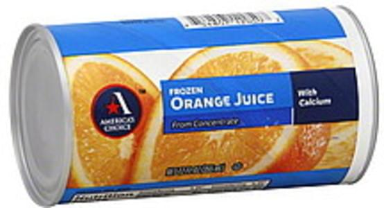 Americas Choice Juice Orange, Frozen, From Concentrate, with Calcium
