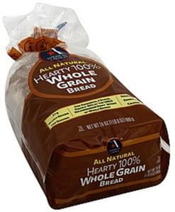 Americas Choice Bread Hearty 100% Whole Grain