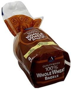 Americas Choice Bagels 100% Whole Wheat
