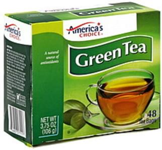Americas Choice Tea Bags Green Tea