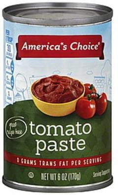 Americas Choice Tomato Paste