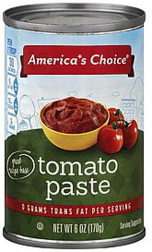 Americas Choice Tomato Paste - 6 oz