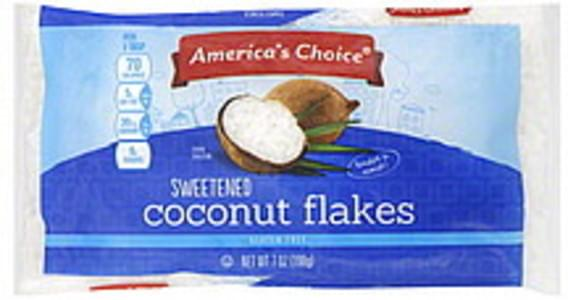 Americas Choice Coconut Flakes Sweetened