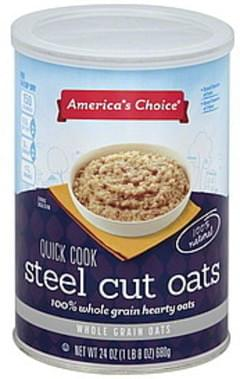 Americas Choice Oats Steel Cut, Quick Cook