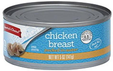 Americas Choice Chicken Breast Packed in Water