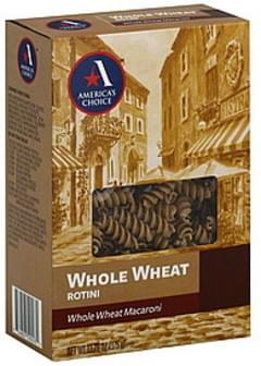 Americas Choice Rotini Whole Wheat