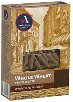 Americas Choice Penne Rigate Whole Wheat