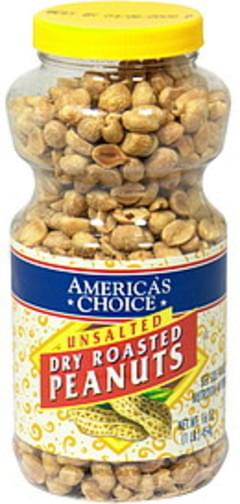 Americas Choice Peanuts Unsalted, Dry Roasted