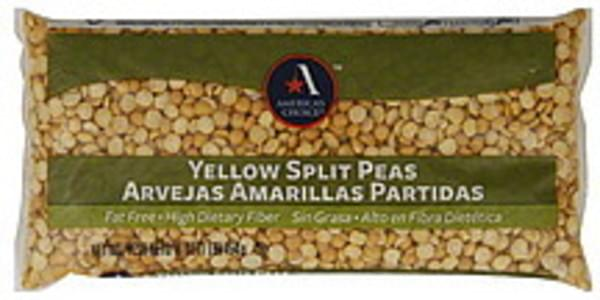 Americas Choice Split Peas Yellow