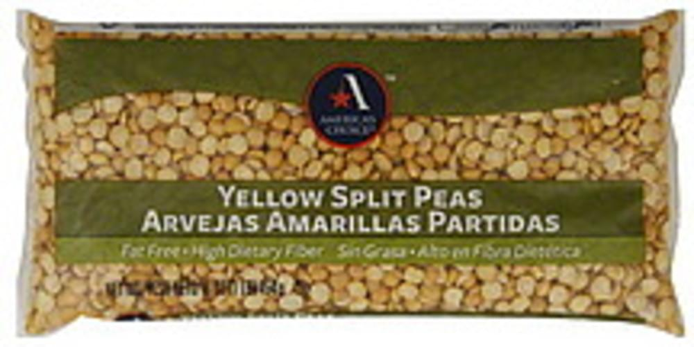 Americas Choice Yellow Split Peas - 16 oz